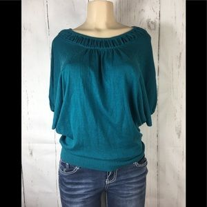Moth by Anthropologie  knit blouse oversize small